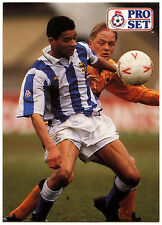 Paul WILLIAMS Sheffield Wednesday #336 Pro Set FOOTBALL 1991-2 TRADE card (C364)