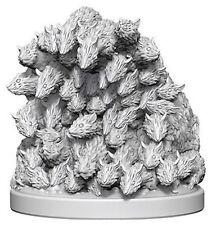 WizKids Deepcuts Unpainted Miniatures: Swarm of Rats (New)