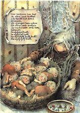 Mother Troll's Cradle Song Baby Troll Maj Fagerberg Postcard Sweden