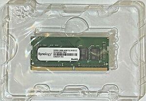 Synology D4ES01-4G 4GB DDR4 SO-DIMM ECC Memory Module - NEW PULL
