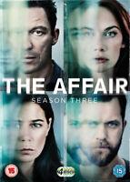 The Affair: Season 3 DVD (2017) Dominic West cert 15 4 discs ***NEW***