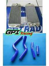 FOR Yamaha YZF250 YZ 250F YZ250F 2007 2008 2009 radiator and blue hose