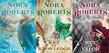 Nora Roberts KEY TRILOGY in LARGE TRADE PAPERBACK Editions Set of Books 1-3