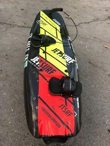 Jetsurf board. Jet Surf. Motosurf
