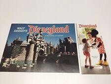 Vintage 1974 Disneyland Pictorial Souvenir Book W/Brochure