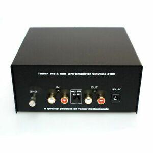 Tonar Vinyline MC / MM Phono Pre Amplifier (220V power supply)