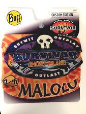 SURVIVOR BUFFS: Ghost Island Orange Malolo Tribe Buff - NEW ON DISPLAY