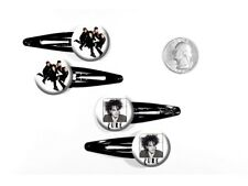 The Cure 80s Gothic Rock Band Robert Smith Set of 4 Barrettes