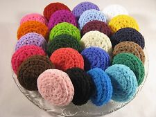 Pot Scrubbers Dish Scrubbies, Nylon Pot Scrubby, Crochet, Handmade, You Choose 6