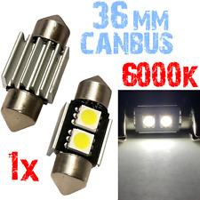 1x 36mm Lamp 6000K LED 2x 5050 Witte Auto Motor binnenverlichting 2B10 2B10-B XI