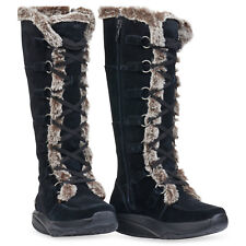 MBT Women's Koko High Black Boots, Size 38 EU/7-7.5 M US