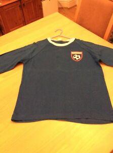 boys clothes 11-12 years Blue Cotton I'm A Town Fan Ipswich Football Club Tshirt