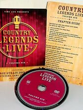 Country Legends Live VOL.6 George Strait,Don Williams Ray Stevens DVD Nashville