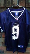 """Football jersey Cowboys""""Romo"""" Reebok boy size 7 Nfl"""