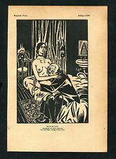 """""""Sklavin der Liebe"""" - Nach einem Holzschnitt von Frand Masereel  (J-BE3)"""