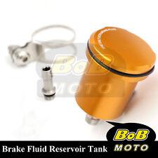 For Honda CBR600RR 2003-2004 Gold Racing CNC Rear Brake Fluid Reservoir Tank