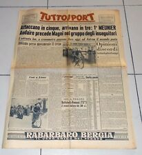 Tuttosport 24 luglio 1953 TOUR DE FRANCE Meunier Lione Magni