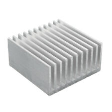 Aluminum Heat Sink IC Heatsink Cooling Fin For CPU LED Power 40 x 40 x 20mm
