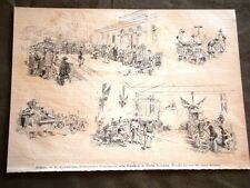 Milano nel 1880 Congresso Ginnastico Nazionale Palestra Porta Romana Ginnastica