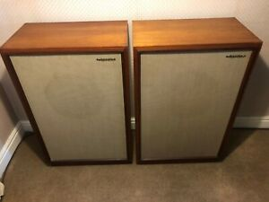 """Tannoy 12"""" Monitor Golds in Cabinets."""