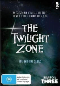 F36 NEW The Twilight Zone - The Original Series : Season 3 (DVD, 1960, 5-Discs)