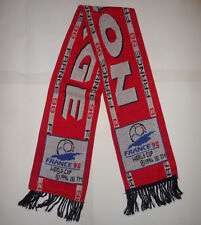 NEW NWOT OFFICIAL FRANCE 98 1998 WORLD CUP NORGE NORWAY SOCCER FOOTBALL Scarf