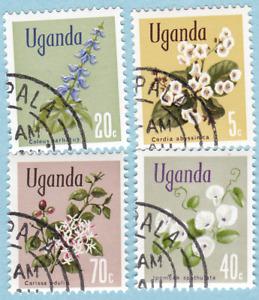 Uganda 1969 SC#115,118,120,123 UNH
