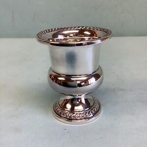 "Sterling Silver Urn Watson Co. Attleboro, MA. 3"" Tall"