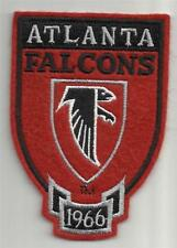 """NEW Atlanta Falcons Hoodie/Rugby Sized Shield Patch 3"""" x 4.25"""" *P8"""