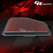 RED WASHABLE HIGH FLOW AIR FILTER FOR 11-17 CHEVY SS CAPRICE 08-09 PONTIAC G8