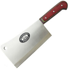 "13.5"" MEAT CLEAVER CHEF BUTCHER KNIFE Stainless Steel Chopper Full Tang Kitchen"