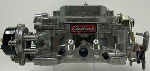 Edelbrock Remanufactured Carburetor 600 CFM Electric Choke # 1406