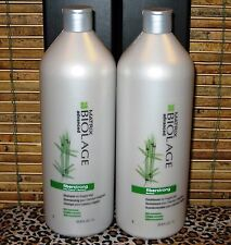 Biolage Fiberstrong Shampoo Conditioner 33.8 oz Liter Duo Set Matrix No Paraben