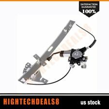 Power Window Regulator Driver Side Front with Motor for 2000-2005 Chevy Impala