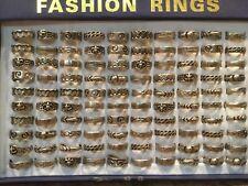 Man Fashion Ring Lot Of 100 Pcs