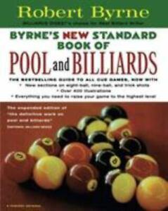 Byrne's New Standard Book of Pool and Billiards , Paperback , Byrne, Robert