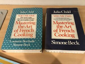 Julia Child's Art of French Cooking Volume 1 & 2 Hardcover