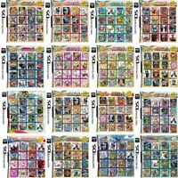 All in 1 Game Cart For DS NDS NDSL NDSi 2DS 3DS All System Games Cartridge