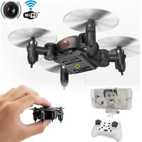 RC Quadcopter 2.4GHz 4CH 6-Axis Gyro 3D UFO Drone FPV W/ WIFI Nano Camera