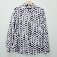 [ SPORTSCRAFT ] Womens Liberty Print - Peacock Shirt Top  | Size AU 14 or US 10