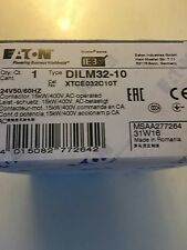 DILM32-10      CONTACTOR  WITH 24V 60HZ     MOELLER   EATON