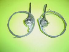 2 New Genuine 1 Pair Huret Bicycle 10 Speed Shift Lever. From 1960,-70s .
