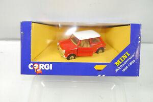 CORGI C330/4 Mini Cooper Flame Red White Metal Model Car 1:43 (K39) #O