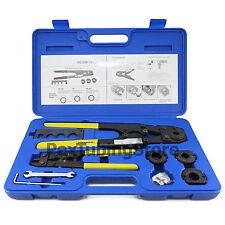 """PEX Crimp Crimper Tool Kit with Decrimper for 3/8"""", 1/2"""", 5/8"""", 3/4"""" tubing"""