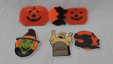 HALLOWEEN REFRIGERATOR MAGNETS SET OF SIX VINTAGE