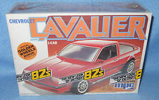 MPC 1982 Chevrolet Cavalier-Molded Red 1-0813 USA-FS Box-Model Car Swap Meet