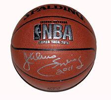 Julius Erving Dr. J Autograph Signed NBA Basketball +