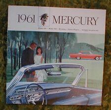1961 Mercury Sales Brochure Big Car Meteor 600 / 800