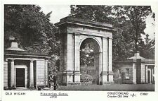 Lancashire Postcard - Old Wigan - Plantation Gates c1910 - Ref 2600
