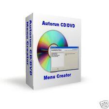 CD Autorun Autostart Installer Menu Creator Software - Developer Tools